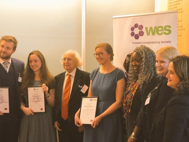Women's Engineering Society announces winners of 2018 awards