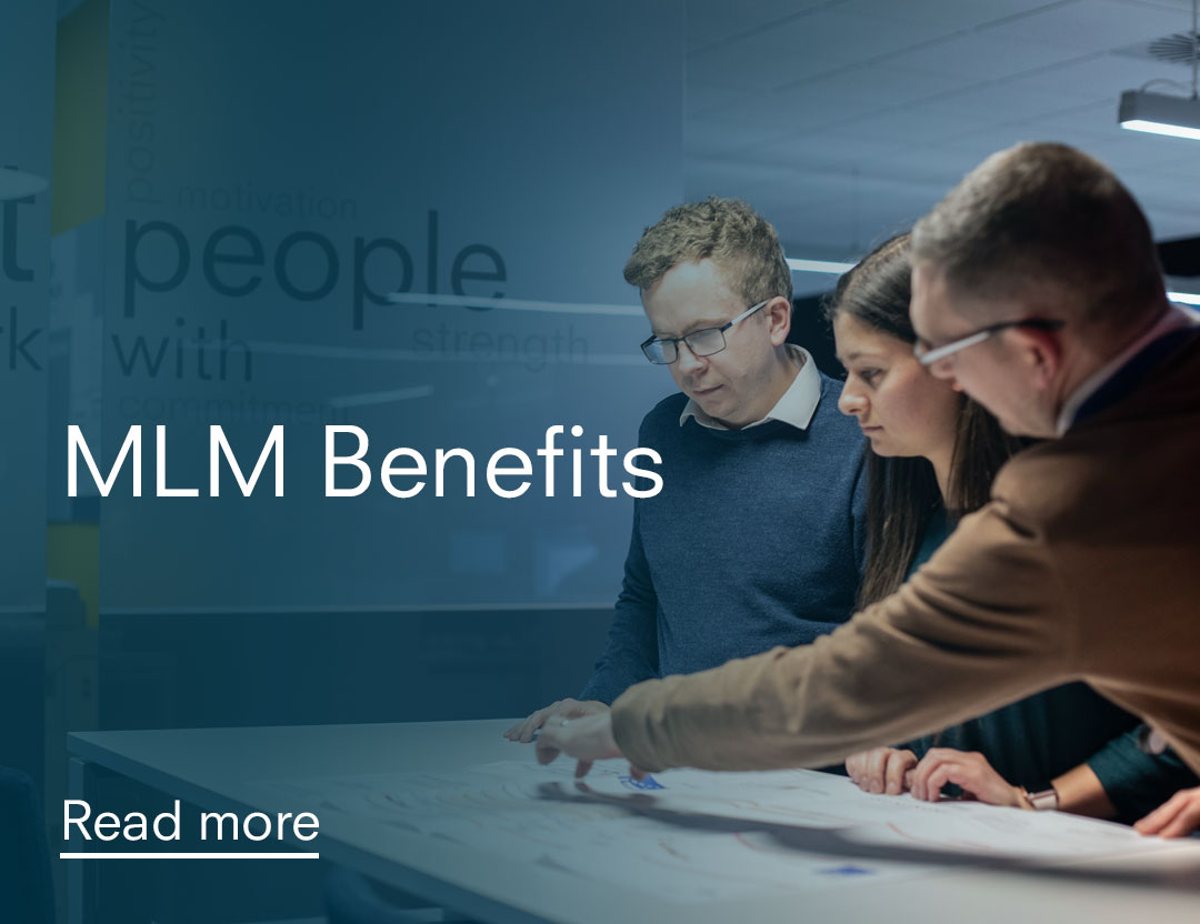 Benefits of working with MLM group