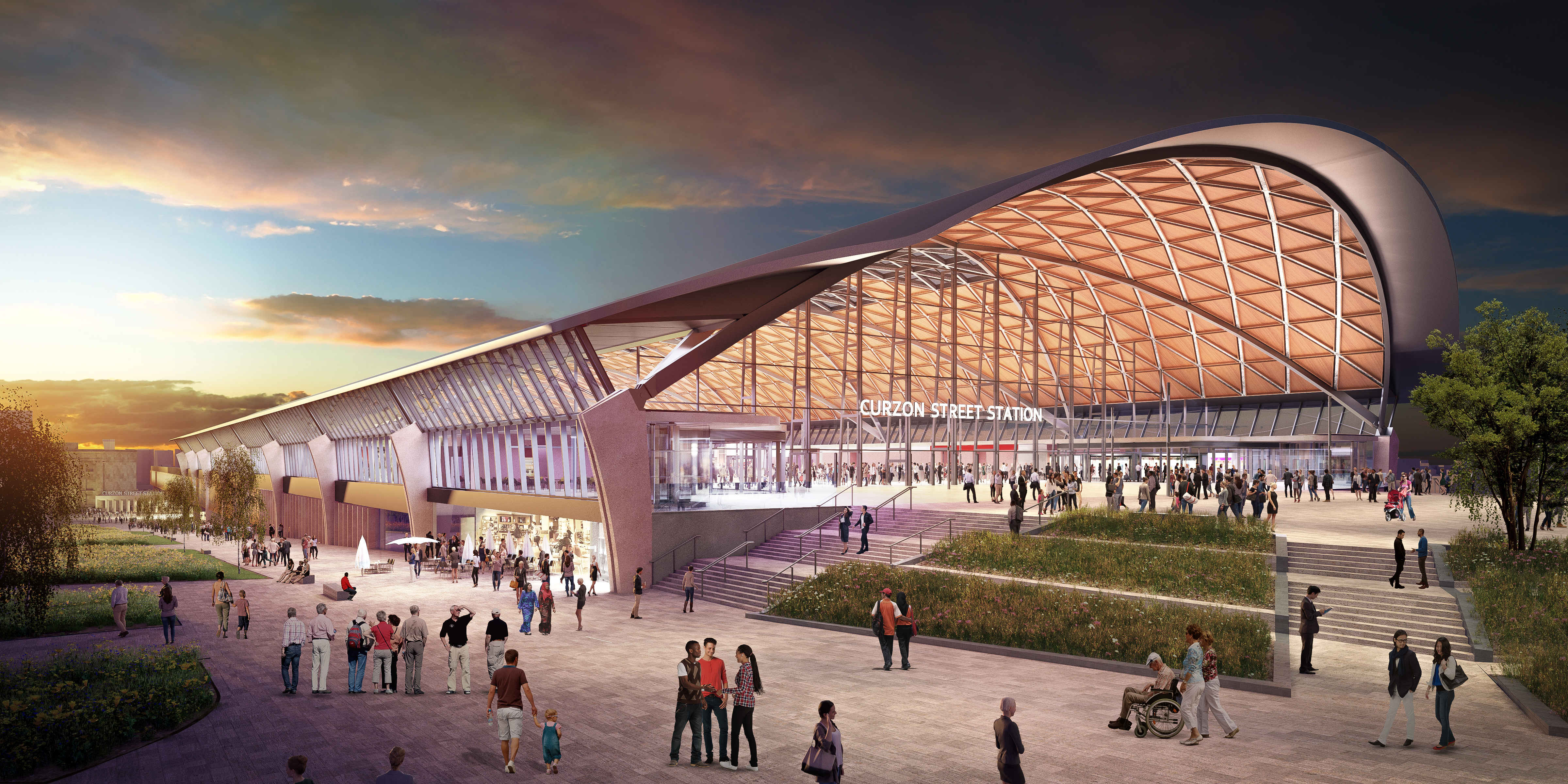 Get on board and help bring HS2's station designs to life