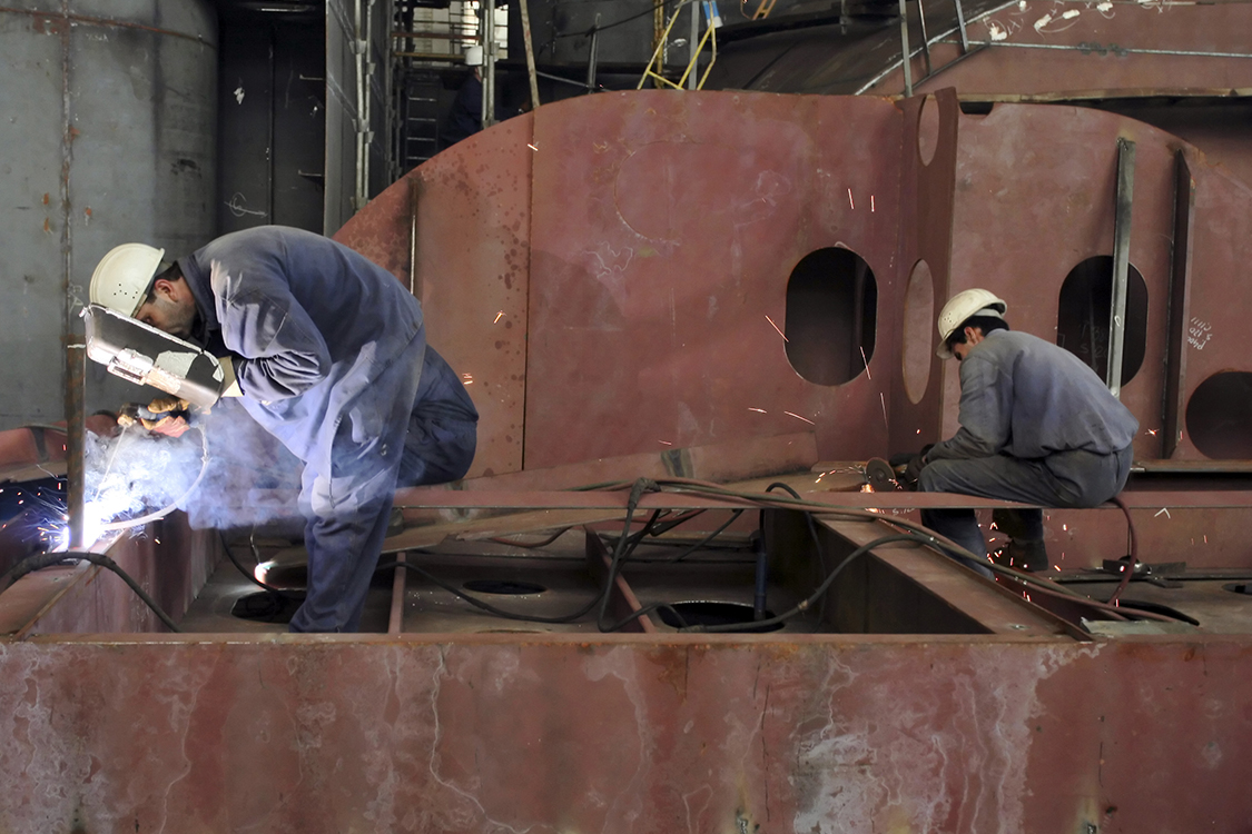 Skilled trades in short supply in the maritime industry