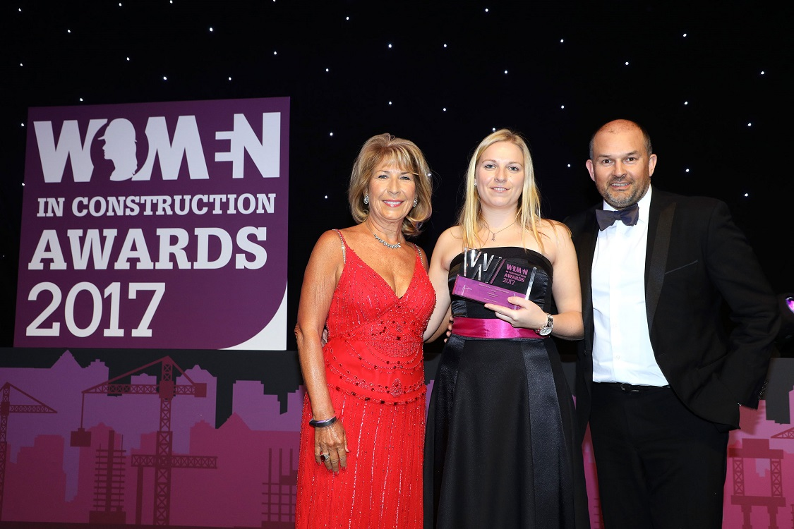 An award-winning woman's thoughts on construction