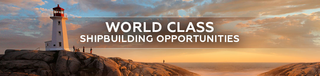 World-class shipbuilding opportunities in Canada